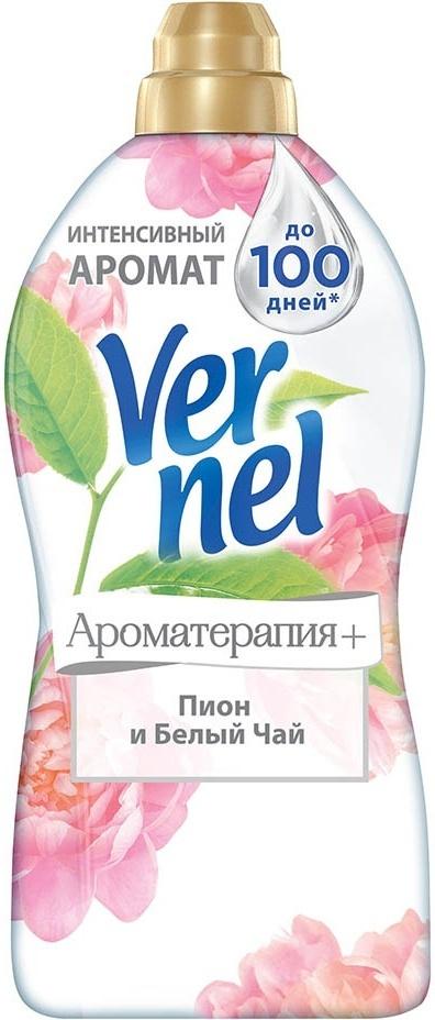 Кондиционер для белья Vernel Ароматерапия+ Пион и белый чай, 1820 мл  #1