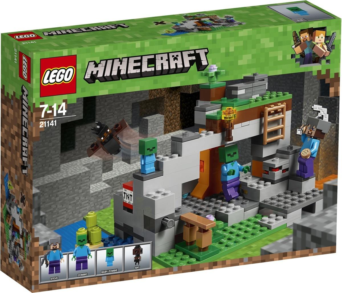 Конструктор LEGO Minecraft 21141 Пещера зомби #1