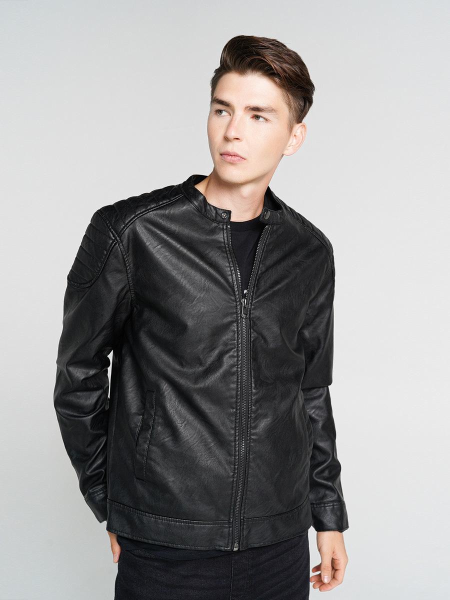 Кожаная куртка ТВОЕ #1