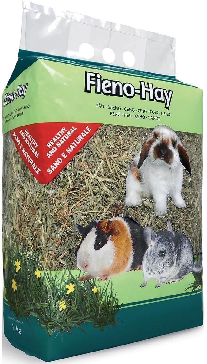 Сено Padovan Fieno Hay Луговые травы, для грызунов и кроликов, 1 кг  #1