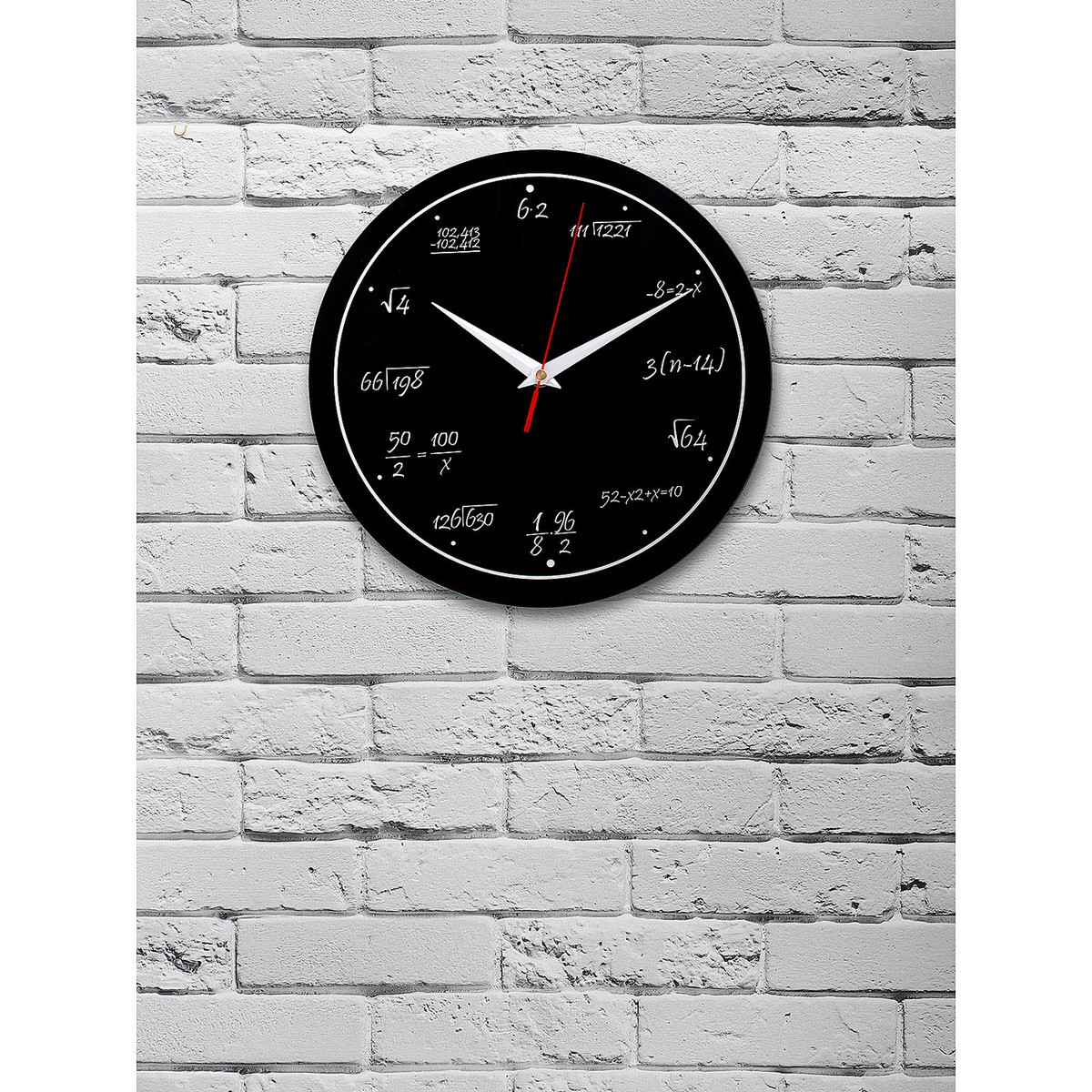 """Настенные часы Эврика """"Математика"""", 28 см #1"""