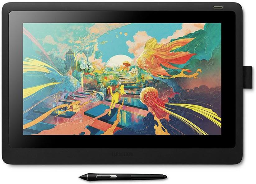 Графический планшет Wacom Cintiq 16, черный — купить в интернет-магазине OZON с быстрой доставкой
