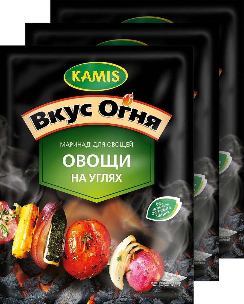 "Маринад для овощей Камис ""Овощи на углях"", 3 шт по 20 г #1"