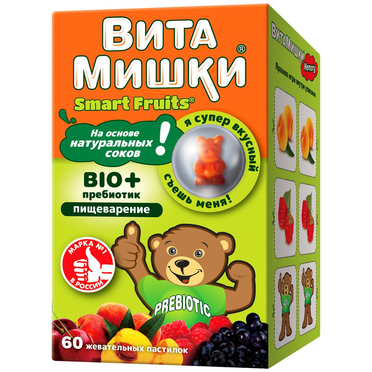 """Пребиотик ВитаМишки """"Bio+"""", 60 жевательных пастилок #1"""