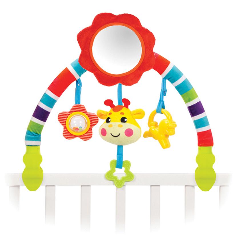 Развивающий центр Жирафики Дуга, с 5 съемными игрушками, 939625  #1
