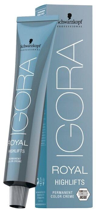 Schwarzkopf Professional Краска для волос Игора Роял Igora Royal Highlifts 12-4 Специальный блондин бежевый #1