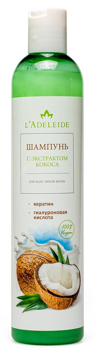 L'Adeleide Шампунь для всех типов волос с экстрактом кокоса 350 мл  #1