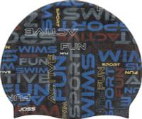 Шапочка для плавания Joss Kids Swim Cap, S18AJSWCJ05-MX, разноцветный