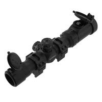 Оптический прицел UTG Leapers 1-8x28 T8, 30 мм, сетка Mil-Dot, подсветка EZ-TAP 36 цветов. SCP3-18IEMDQ