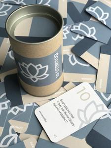 10 ответов BOOKFIT. Набор карточек для самопознания.. Вместе дешевле!