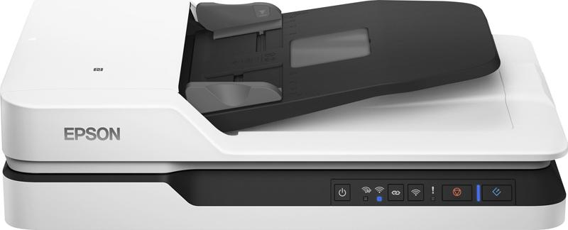 Сканер Epson Work Force DS-1660W, B11B244401, серый