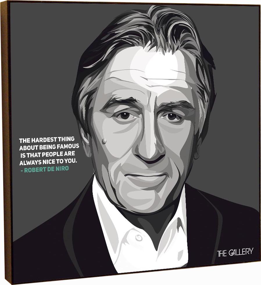 Картина постер Роберт Де Ниро в стиле поп-арт 25 х см