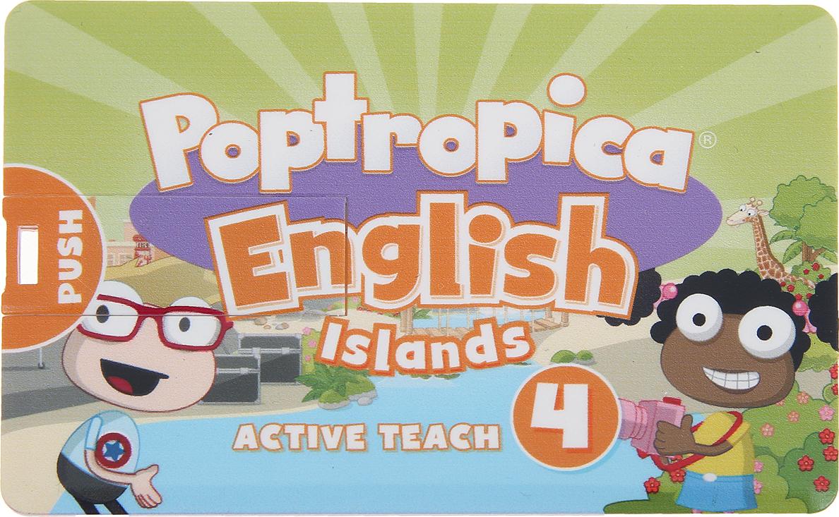 лучшая цена Poptropica English Islands 4 Active Teach USB