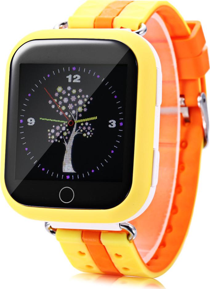 Часы Smart Baby Watch Q750 (Желтые)