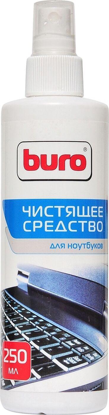 Спрей Buro для ноутбуков, 250 мл, BU-SNOTE база ноутбуков