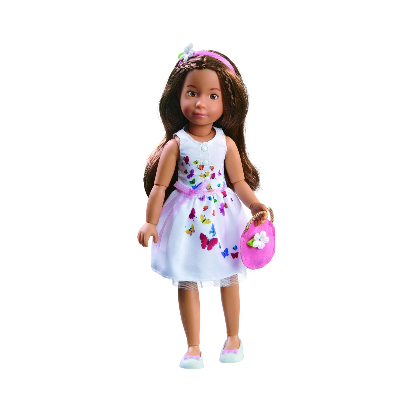 0126852 Кукла София Kruselings в летнем праздничном платье