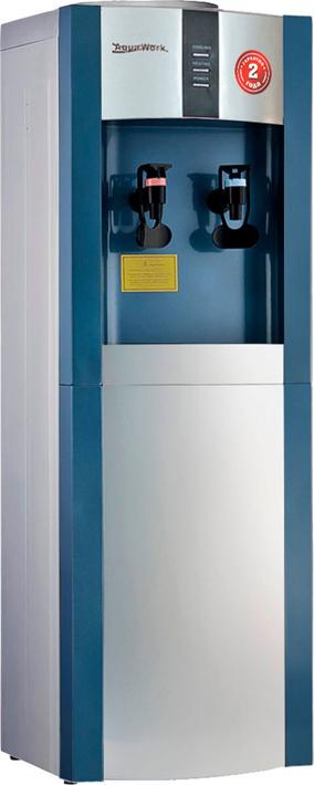 Кулер для воды Aqua Work AW 16L/EN, серебристый, синий