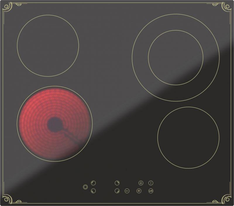 Варочная панель Darina 4P8 E326 B, черный