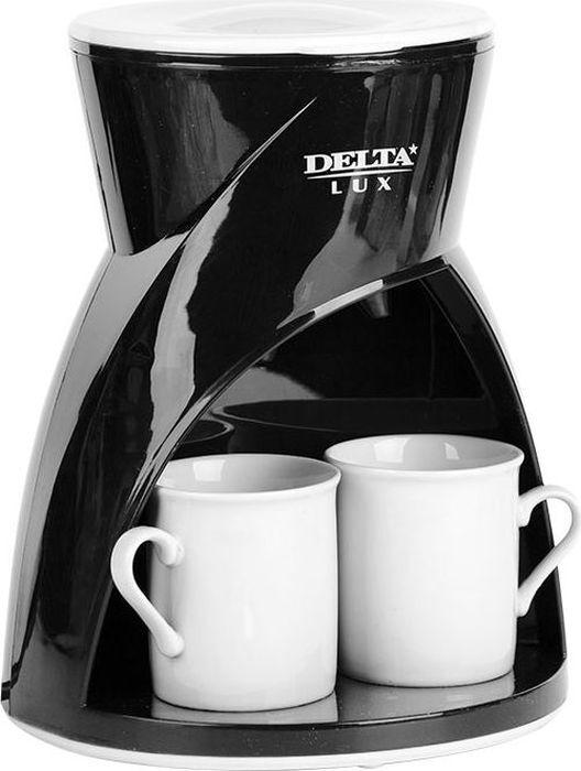Кофеварка капельная Delta Lux DL-8131, черный Delta Lux