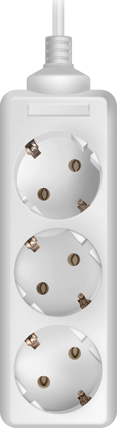 Удлинитель SVEN Standard 3G-3/5m, белый