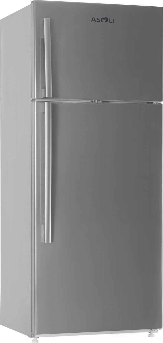 Холодильник с верхней морозилкой ASCOLI ADFRS510W Ключевые особенности: Полезный объем 510л. 2 ящика для овощей....