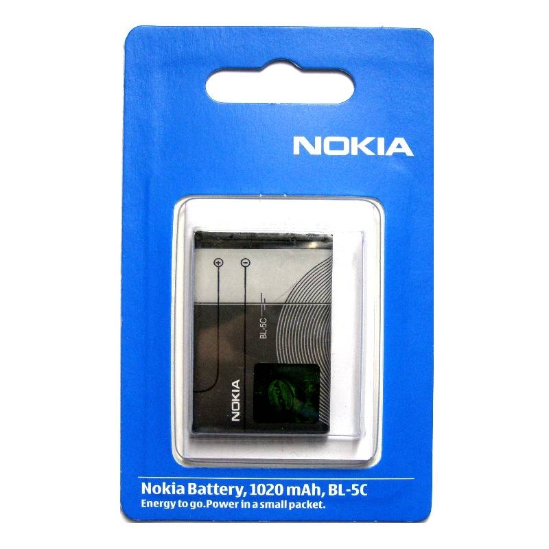 Аккумулятор Nokia BL-5c, 1020 mAh 3.7V