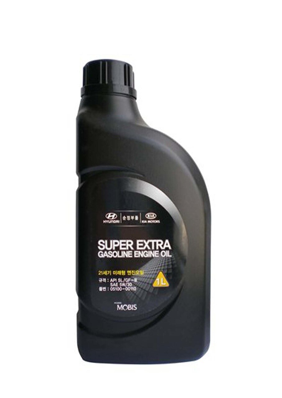 Моторное масло HYUNDAI Super Extra Gasoline SAE 5W-30 SL/GF-3 (1л)
