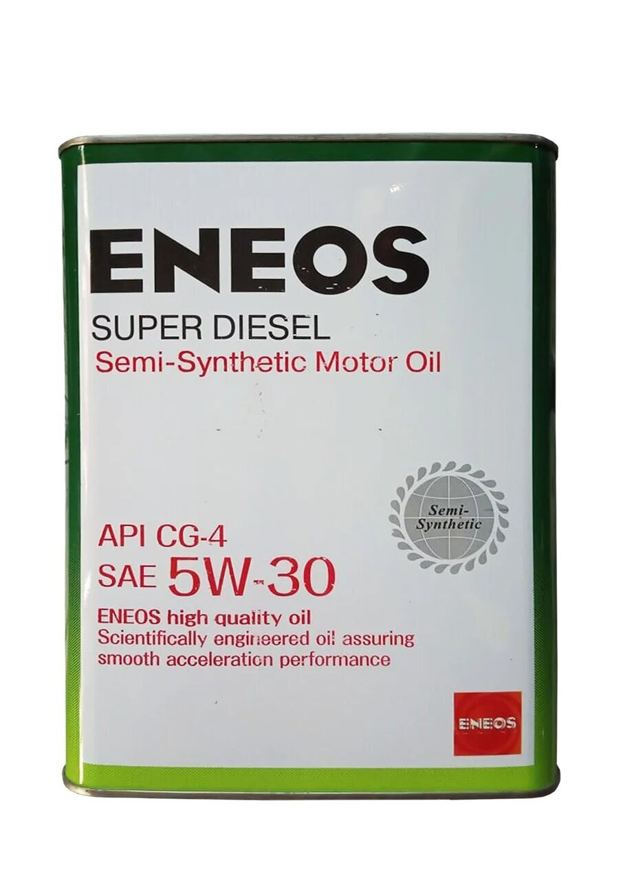 Моторное масло ENEOS Super Diesel Semi-Synthetic SAE 5W-30 (4л)