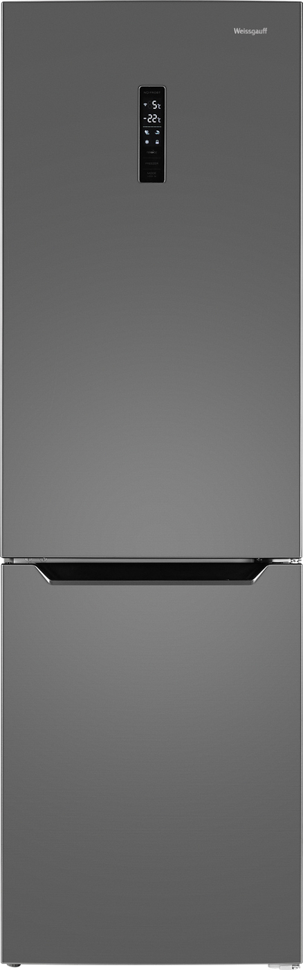 Холодильник Weissgauff WRK 2000 XNF, серебристый