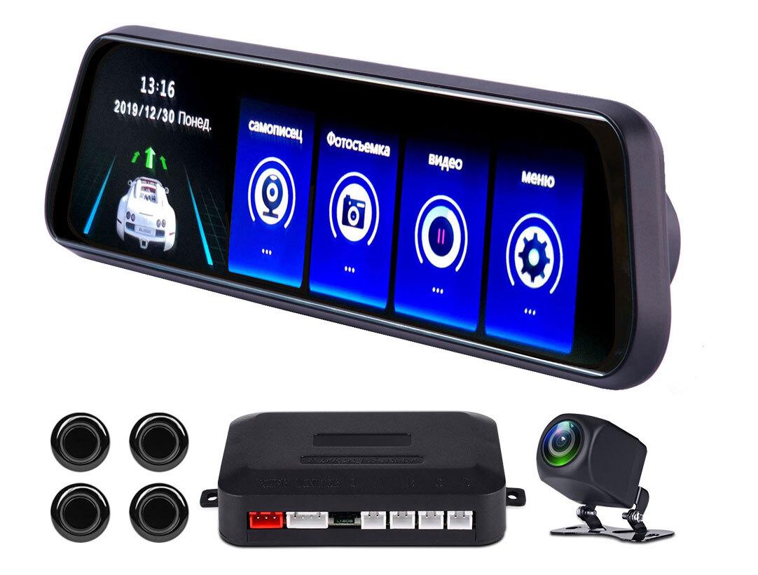 Регистратор и парктроник в зеркало видеорегистраторы с двумя камерами отзывы какой лучше