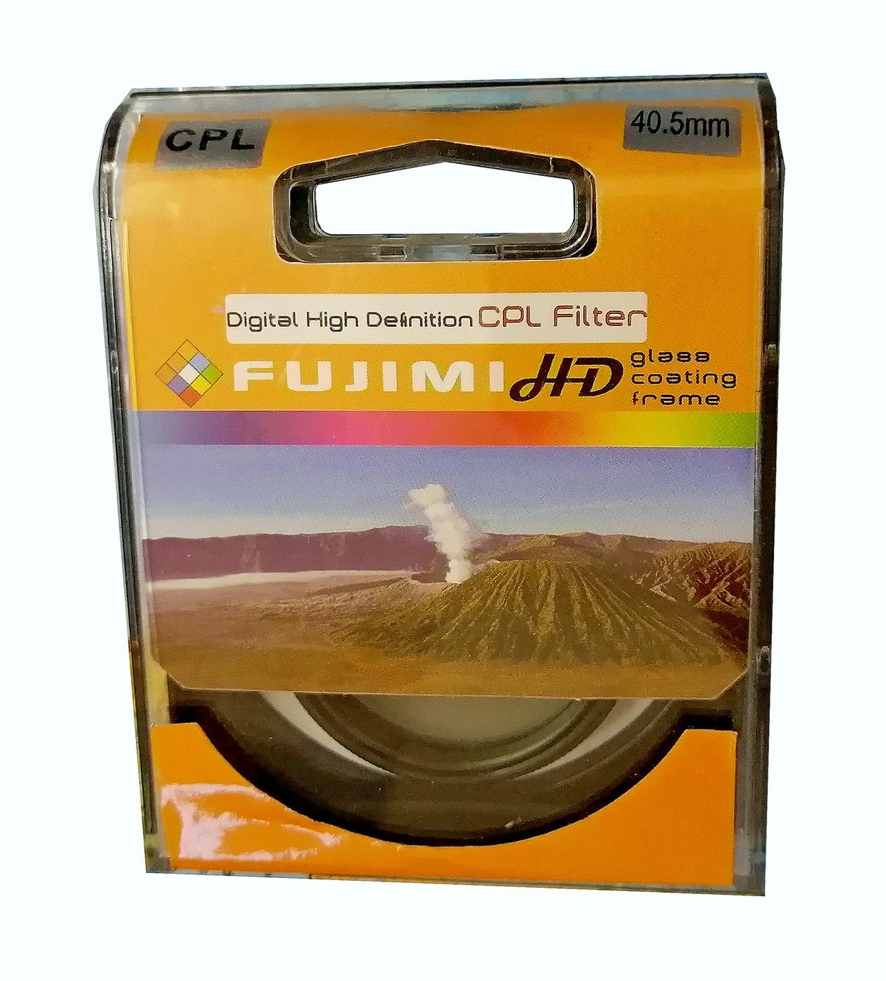 Светофильтр Fujimi CPL dHD 40.5мм