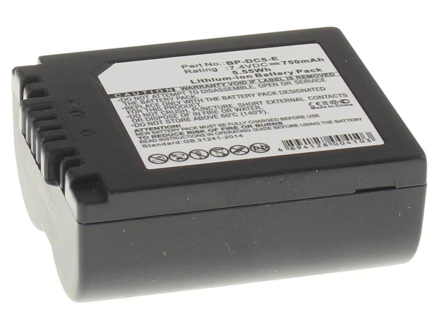 Аккумуляторная батарея iBatt iB-T1-F318 750mAh для камер Leica V-Lux 1,  для Panasonic Lumix DMC-FZ8, Lumix DMC-FZ50, Lumix DMC-FZ18, Lumix DMC-FZ7, Lumix DMC-FZ38, Lumix DMC-FZ30, Lumix DMC-FZ28, Lumix DMC-FZ35,