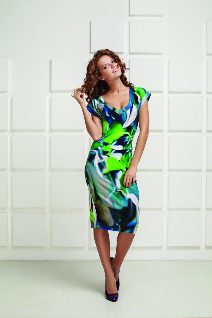 Купить Летнее Платье Из Вискозы