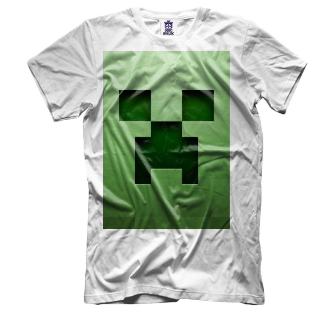 озон футболки с майнкрафт #5