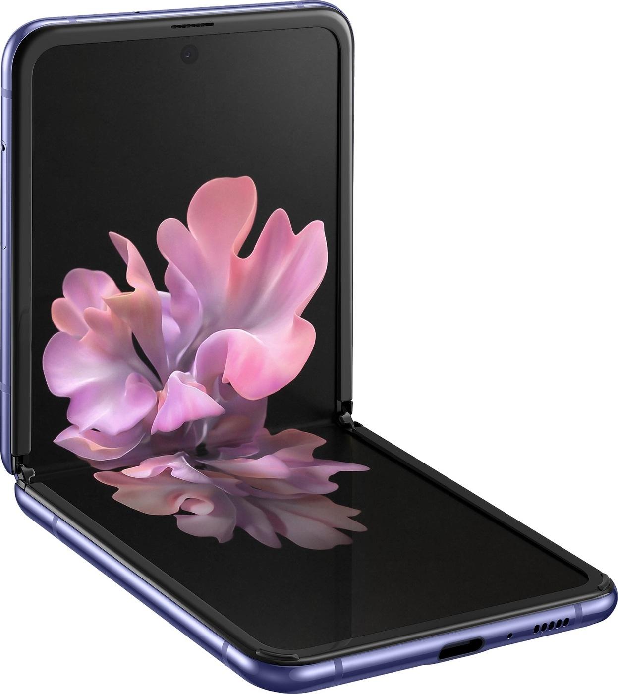 смартфон samsung galaxy z flip  8/256gb, чёрный бриллиант. уцененный товар