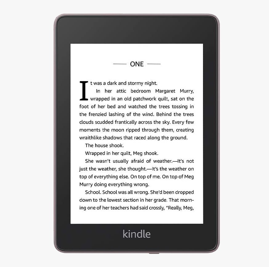"электронная книга amazon kindle paperwhite 2018 8gb, plum 6"", розовый"