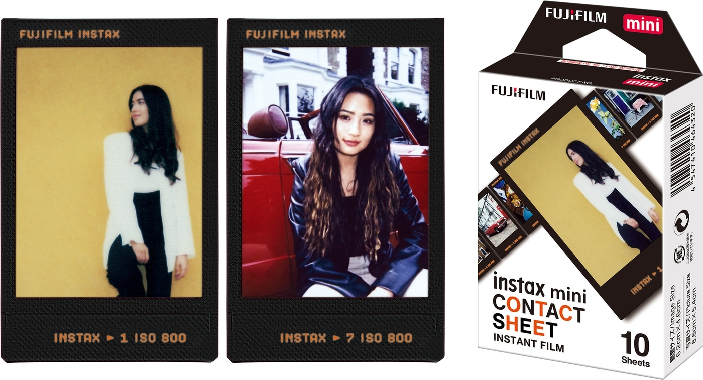 картридж для фото fujifilm instax mini contact sheet