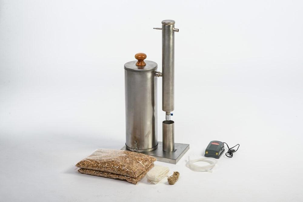 Дымогенератор Hanhi 2 (Ханхи) холодного копчения для коптильни