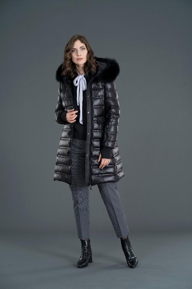 Пальто пуховое SAVINO FIORE #1