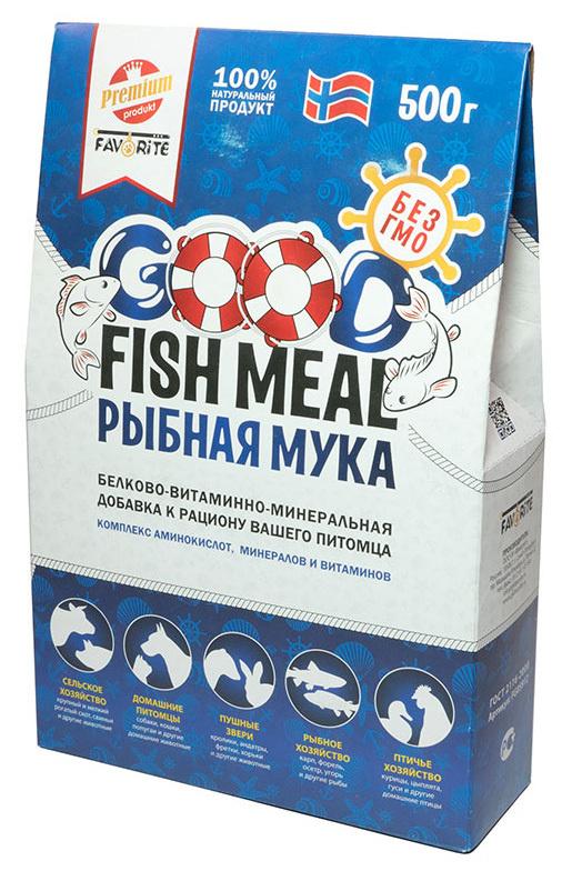 Рыбная мука белково-витаминно-минеральная добавка к рациону вашего питомца,500г  #1