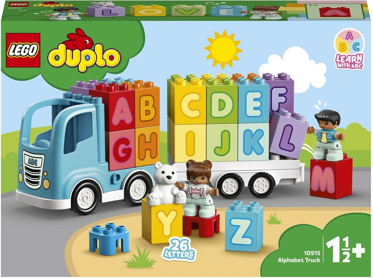 Конструктор LEGO DUPLO Creative Play 10915 Грузовик «Алфавит» #1