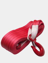 Трос буксировочный КАНАТЭК 28т/5м (крюк-крюк). Двухслойный. Усиленный.. Тросы буксировочные