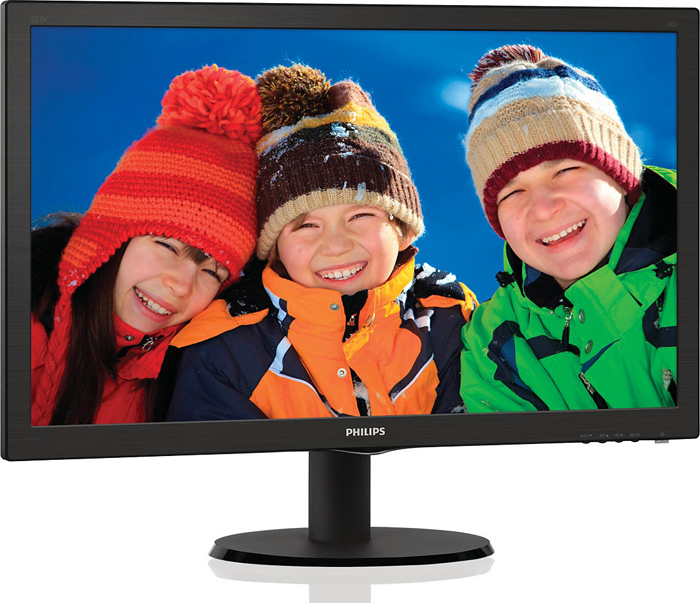 22 Монитор Philips, 223V5LSB2 (10/62) монитор philips 243v5lsb 10 62