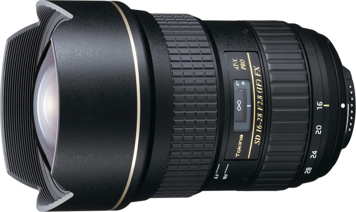 Широкоугольный объектив Tokina AT-X 16-28 PRO FX F2.8 C/AF для Canon
