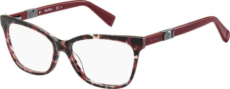 Оправа для очков женская Max Mara 1290, MAX-147660H8C5415, красный оправа max