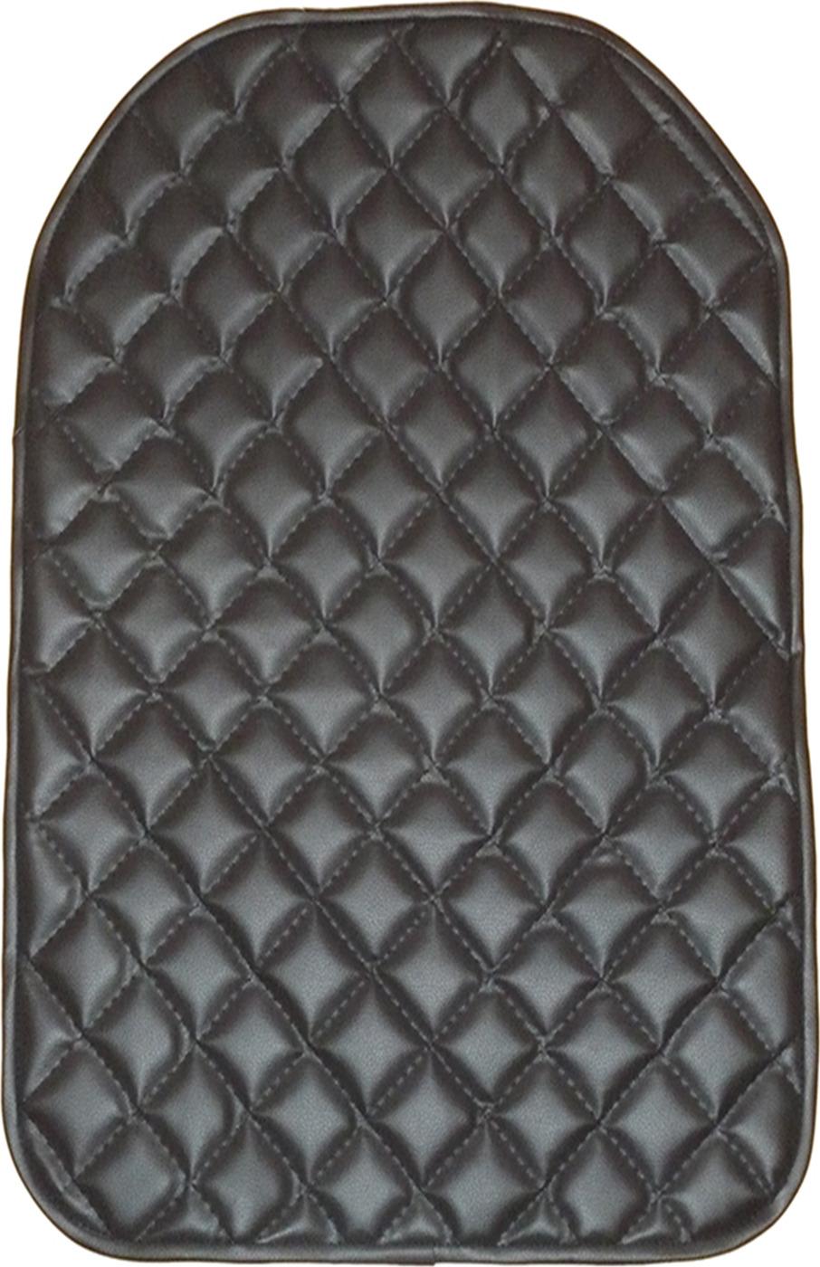 Lux Cover защитный чехол на спинку переднего сиденья из экокожи Stitch (Черный) цена 2017