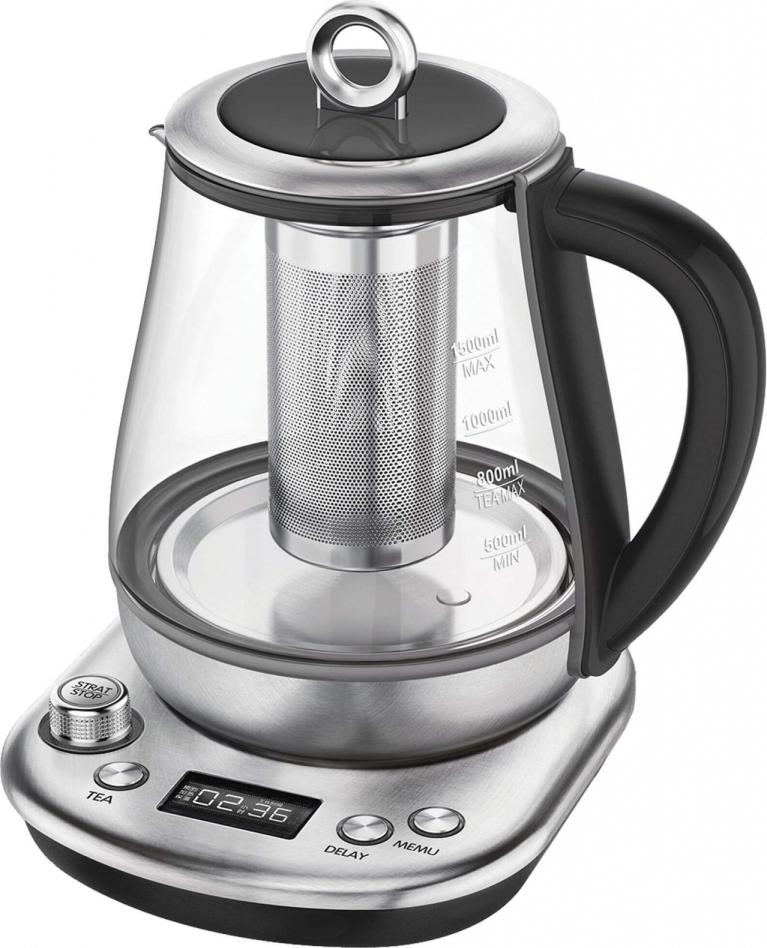 Чайник электрический GEMLUX GL-TK1598 чайник электрический gemlux gl ek622ss 1 5 л