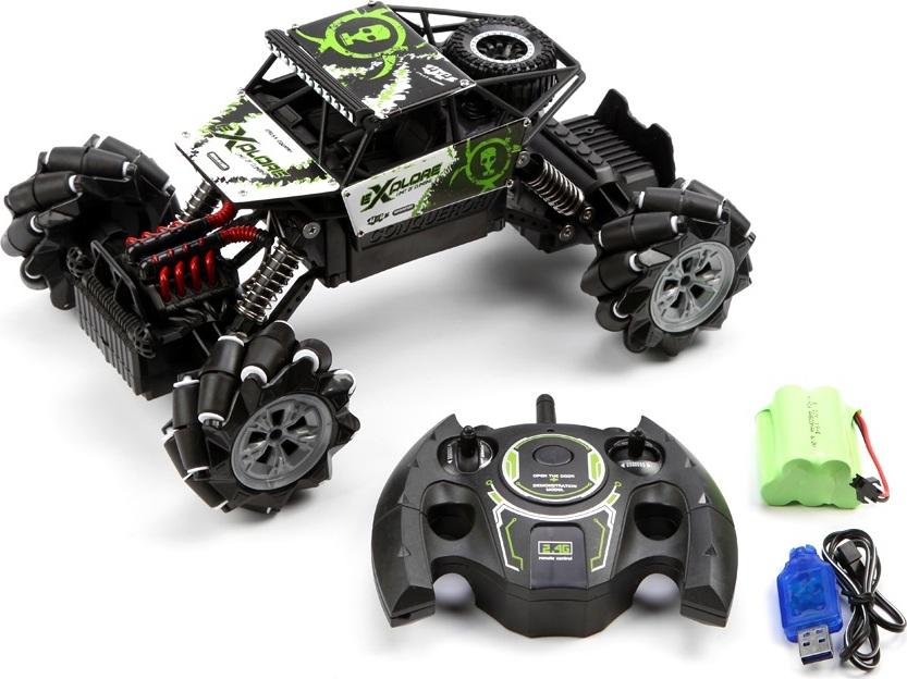 Машинка Дрифт краулер, радиоуправляемая, 4WD Черный