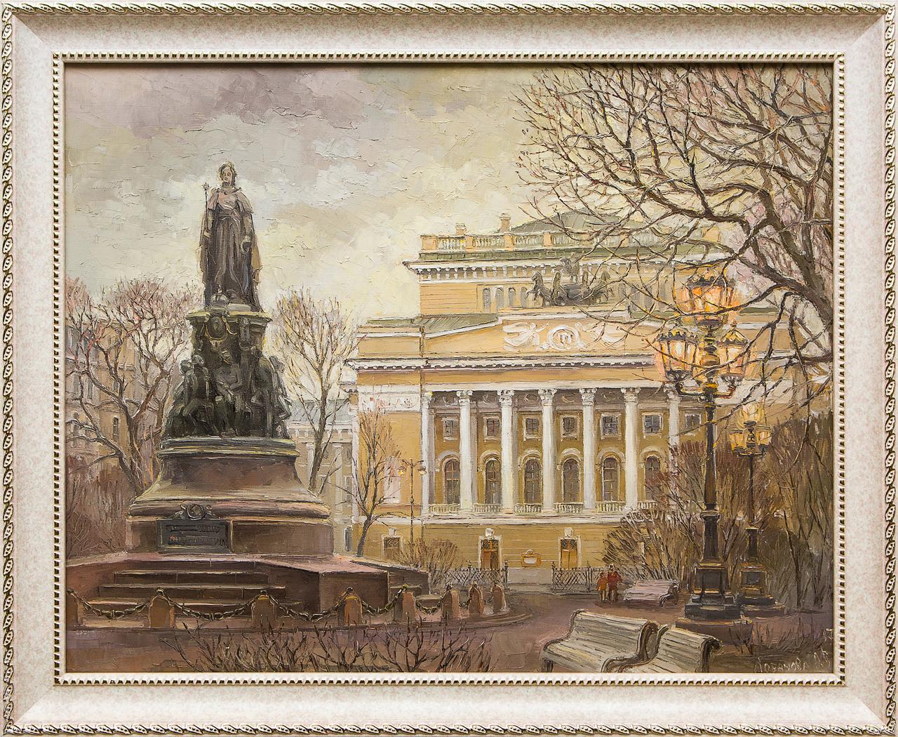 Фото - Картина маслом Екатерининский сквер Лобанова альбина лобанова святой андрей