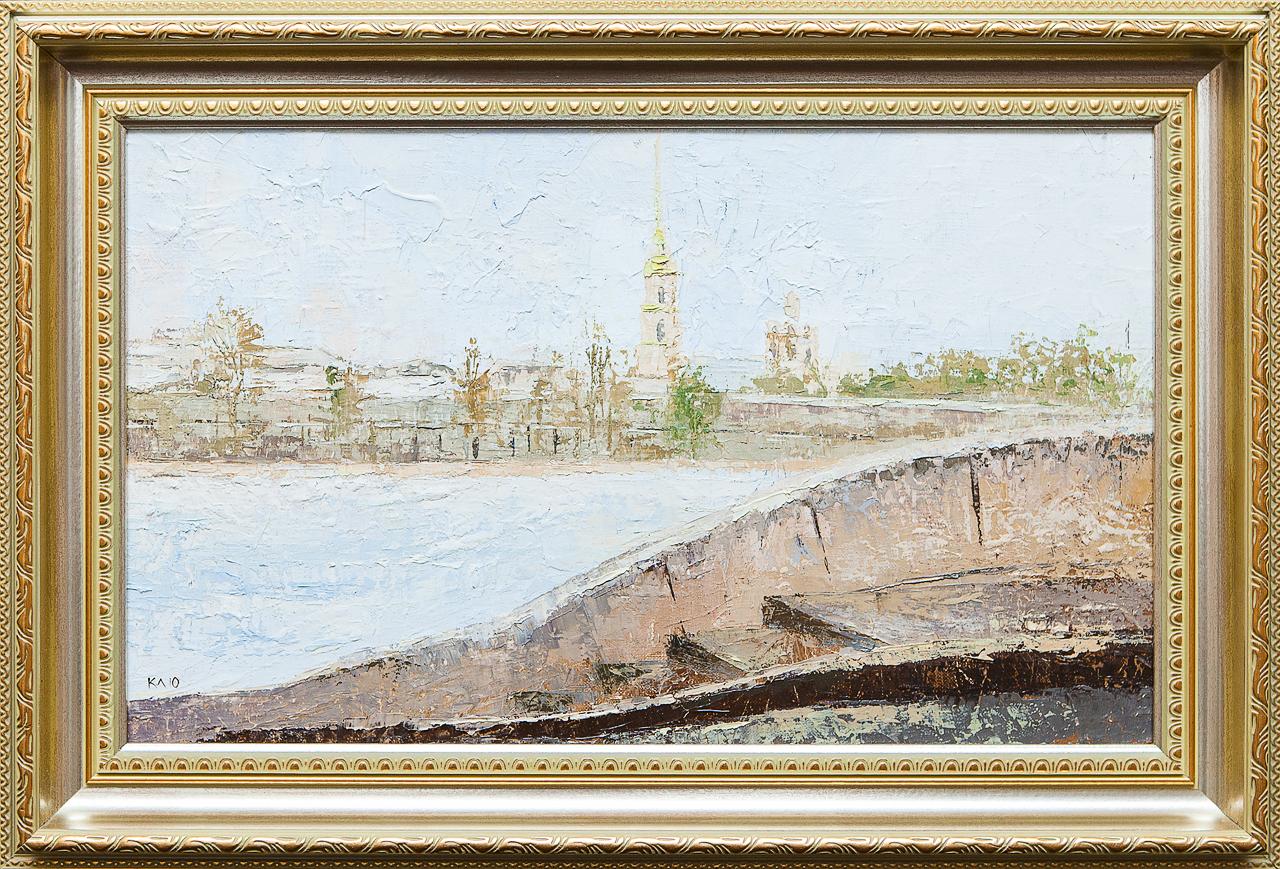 Картина маслом Петропавловка Клеверов картина маслом петропавловка клеверов